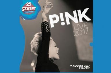 P!NK на Sziget Festival 2017