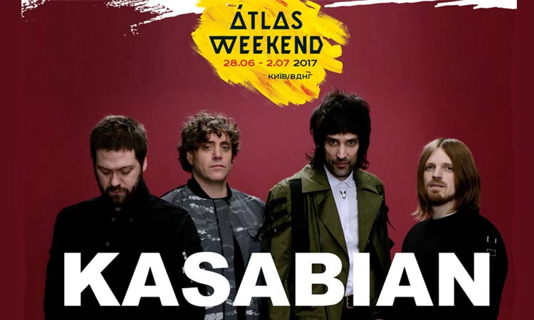 Kasabian на фестивале Atlas Weekend